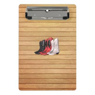 ティーの国のブーツ ミニクリップボード