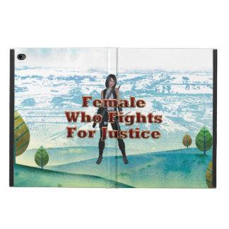 ティーの女性正義 POWIS iPad AIR 2 ケース