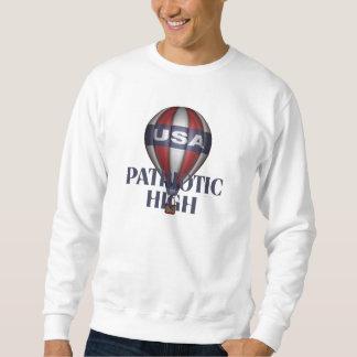 ティーの愛国心が強い最高 スウェットシャツ