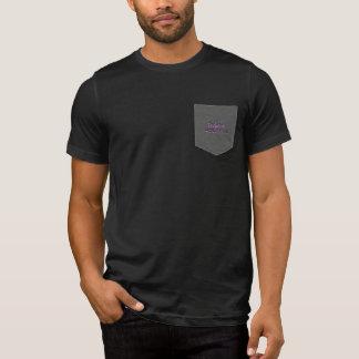 +ティーの把握の1つのポケット Tシャツ