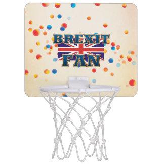 ティーのBrexitファン ミニバスケットボールゴール