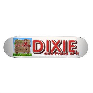 ティーのDixieの女の子 カスタムスケートボード