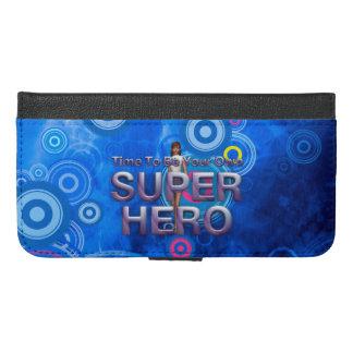 ティーはスーパーヒーローを所有することです iPhone 6/6S PLUS ウォレットケース