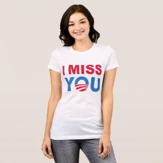 ティーを恋しく思っているバラック・オバマ Tシャツ