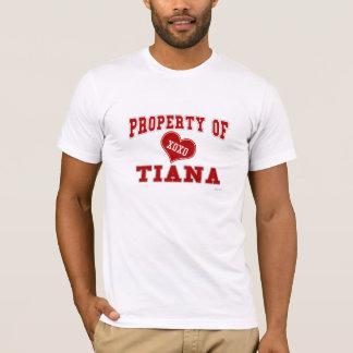 ティーアナの特性 Tシャツ