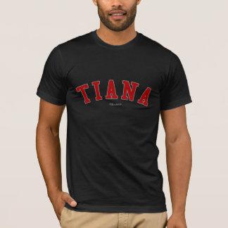 ティーアナ Tシャツ