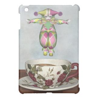 ティーカップに飛び込むPierrotのピエロの人形 iPad Mini カバー