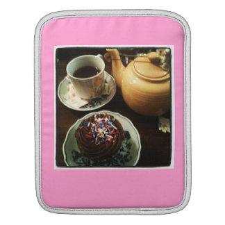 ティーカップの茶場合 iPadスリーブ