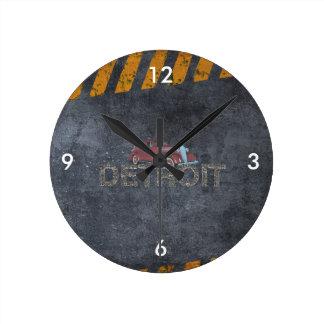 ティーデトロイト ラウンド壁時計
