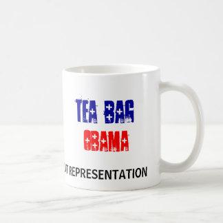 ティーバッグ、オバマのマグ コーヒーマグカップ