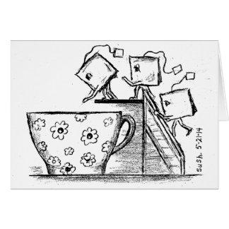 ティーバッグ -- メッセージカード カード