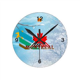 ティーモントリオール ラウンド壁時計