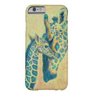 ティール(緑がかった色)のキリンのiPhone6ケース iPhone 6 ベアリーゼアケース
