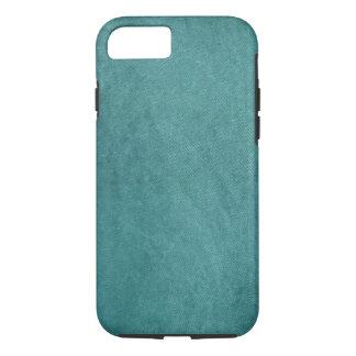 ティール(緑がかった色)のターコイズの終わりのりんごiPhone7の箱のデザイン iPhone 8/7ケース