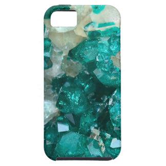 ティール(緑がかった色)の氷砂糖の水晶 iPhone SE/5/5s ケース