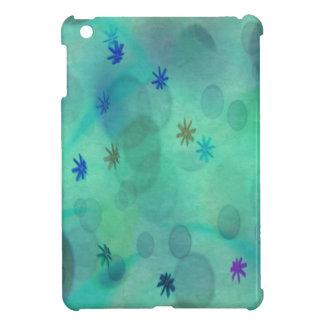 ティール(緑がかった色)の泡 iPad MINIケース