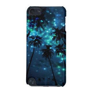 ティール(緑がかった色)の熱帯楽園のipod touch 5gの電話箱 iPod touch 5G ケース