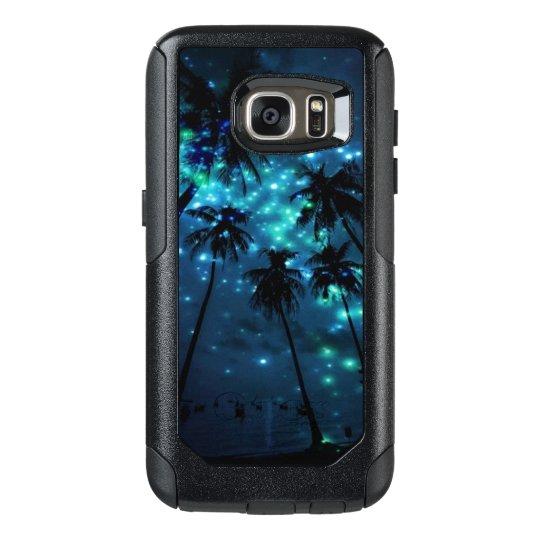 ティール(緑がかった色)の熱帯楽園のSamsungの銀河系S7のオッターボックス オッターボックスSamsung Galaxy S7ケース