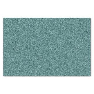 ティール(緑がかった色)の青緑の模造のなグリッター 薄葉紙