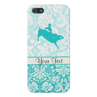 ティール(緑がかった色)のBullの乗馬 iPhone 5 Cover