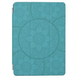 ティール(緑がかった色)のHennaの刺激を受けたなiPad Airカバー iPad Air カバー