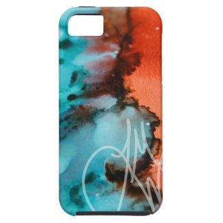 ティール(緑がかった色)へのサケ iPhone SE/5/5s ケース