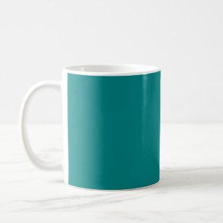 ティール(緑がかった色) コーヒーマグカップ
