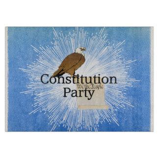 ティー憲法のパーティー カッティングボード