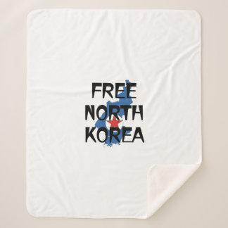 ティー自由な北朝鮮 シェルパブランケット
