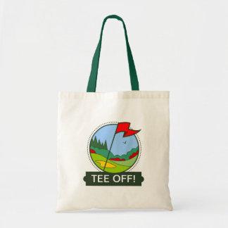 ティー! ゴルフ買い物袋 トートバッグ