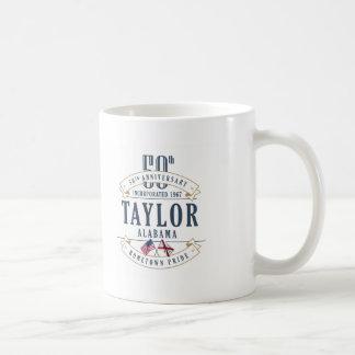 テイラーのアラバマ第50記念日のマグ コーヒーマグカップ