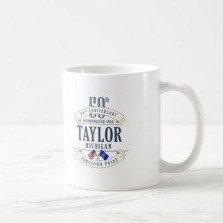 テイラーのミシガン州第50記念日のマグ コーヒーマグカップ