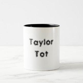 テイラーの幼児 ツートーンマグカップ