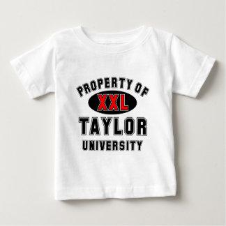 テイラー大学の特性 ベビーTシャツ