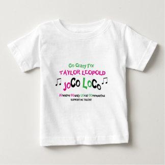 テイラー: 幼児のTシャツ ベビーTシャツ
