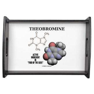 テオブロミンチョコレート分子の有効成分 トレー