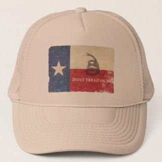 テキサス州およびガズデンの旗 キャップ