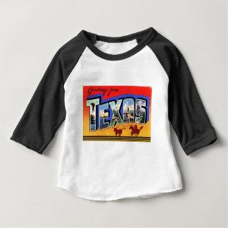 テキサス州からの挨拶 ベビーTシャツ
