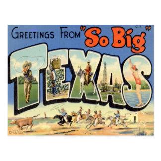 テキサス州からの挨拶 ポストカード