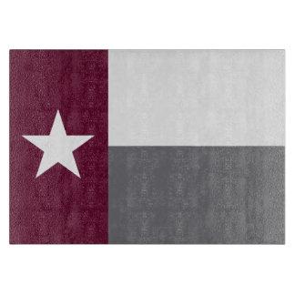 テキサス州のあずき色の旗 カッティングボード