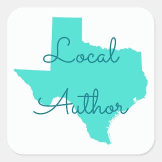 テキサス州のあなた自身のローカル作家を作成して下さい スクエアシール