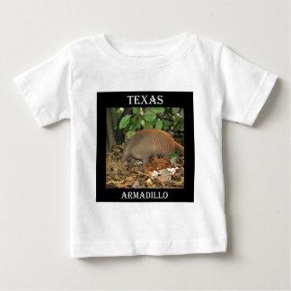 テキサス州のアルマジロ ベビーTシャツ
