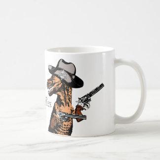 テキサス州のカウボーイとしてTレックス: ティラノサウルス・レックスTex… コーヒーマグカップ