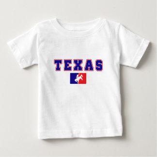 テキサス州のカウボーイのプライド ベビーTシャツ