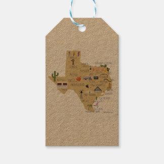 テキサス州のギフトのラベル ギフトタグ
