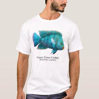 テキサス州のシクリッド魚のTシャツ Tシャツ