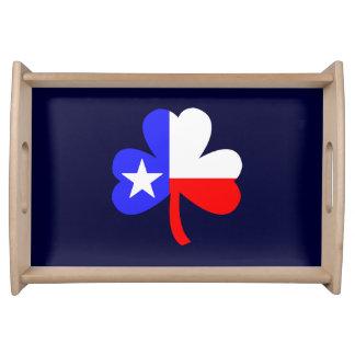 テキサス州のシャムロック トレー