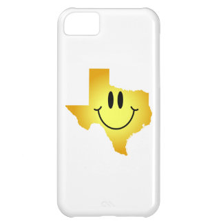 テキサス州のスマイリーフェイス iPhone5Cケース
