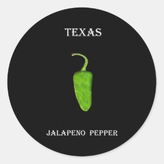 テキサス州のハラペーニョのコショウ1 .jpg ラウンドシール