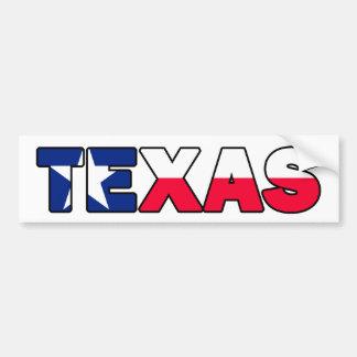 テキサス州のバンパーステッカー バンパーステッカー